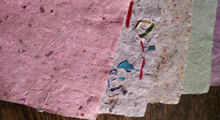 Handmade Paper Recycling Magic
