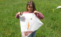 Kids Kite Making