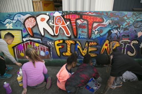 Pratt Fine Arts Open House 2016