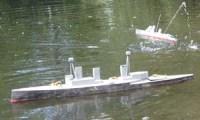 Model Warship Combat
